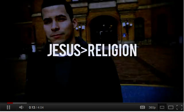 Why I Hate Religion, but Love Jesus