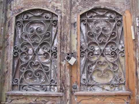 Locked Old Door