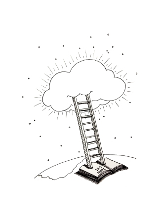 heavenly ladder sketch
