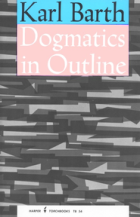 dogmatics in outline barth book cover