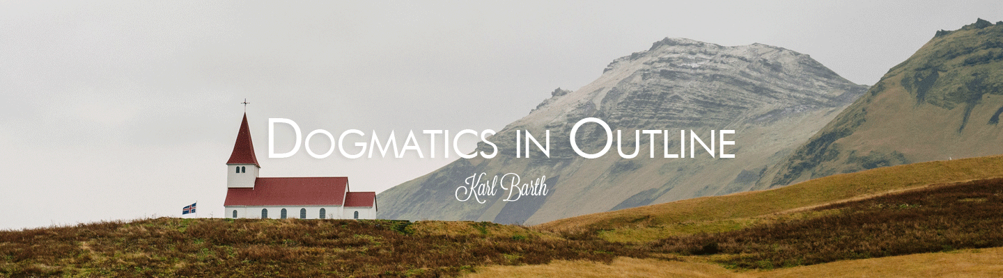 dogmatics in outline review karl barth