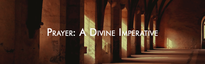 prayer divine imperative