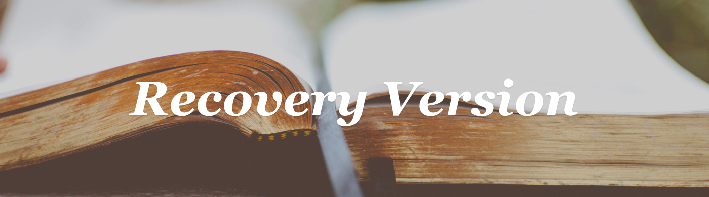 Recovery Version Bible Review | conversant faith